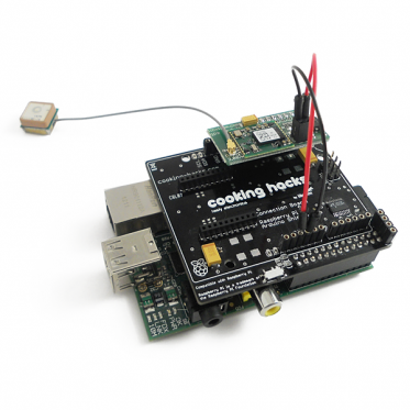 GPS shield for Raspberry Pi