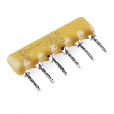 Resistor Network - 10K Ohm (6-pin bussed)
