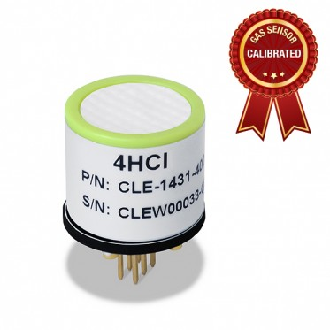 Calibrated Hydrogen Chloride (HCl) gas sensor
