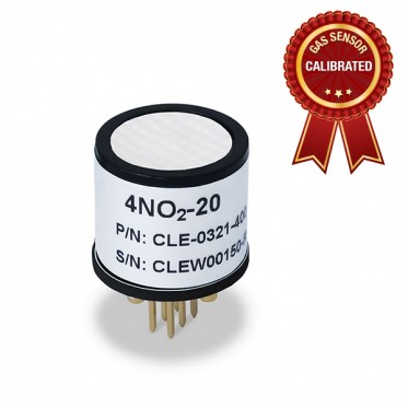 Calibrated Nitric Dioxide (NO2) gas sensor
