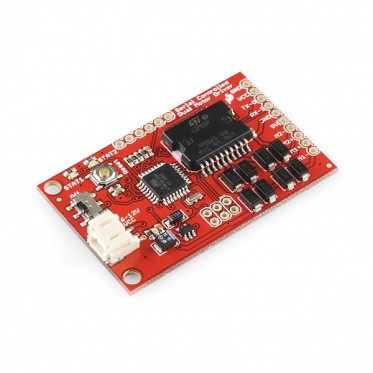 Serial Controlled Motor Driver