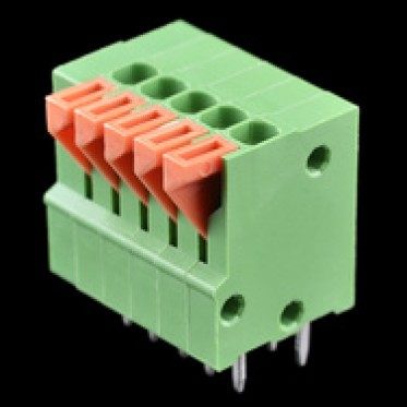 Spring Terminals - PCB Mount (5-Pin)
