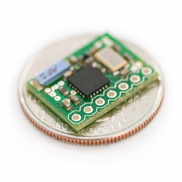 Transceiver nRF2401A with Chip Antenna