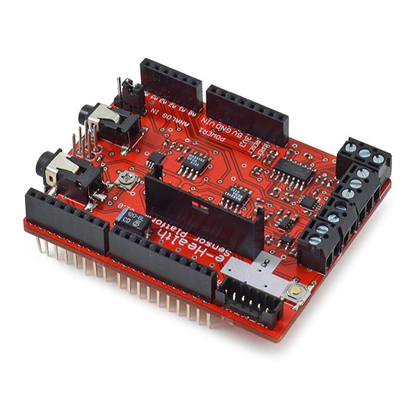 e-Health Sensor Shield V2 0 for Arduino, Raspberry Pi and Intel