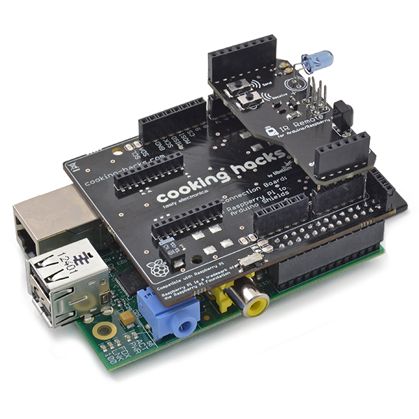 IR Remote Shield for Raspberry Pi