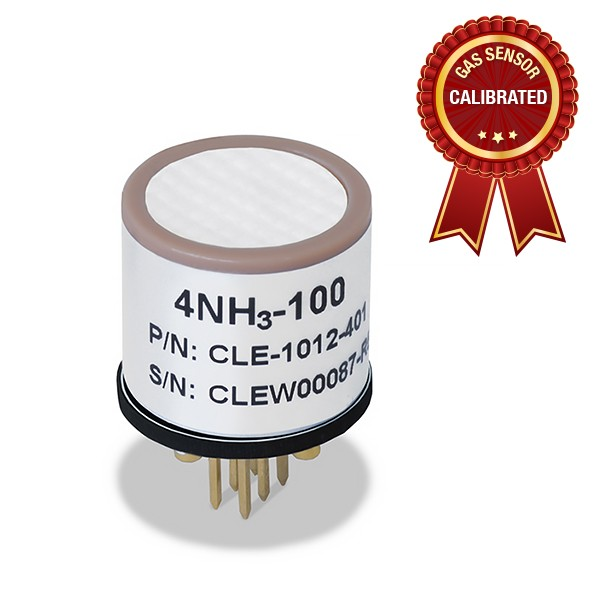 Calibrated Ammonia (NH3) gas sensor Carbon (Low Concentrations) - Shop