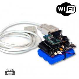 Industrial protocols RS-232 WiFi IoT kit