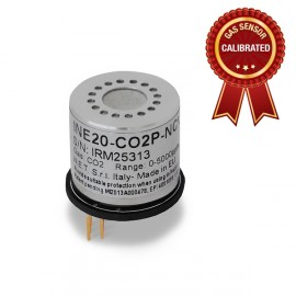 Calibrated Carbon Dioxide (CO2) gas sensor