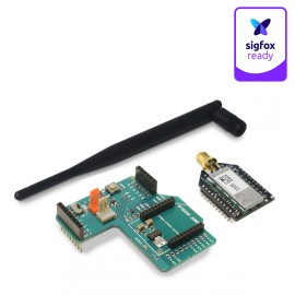Sigfox Radio Shield for Arduino – US (1 year connectivity free)
