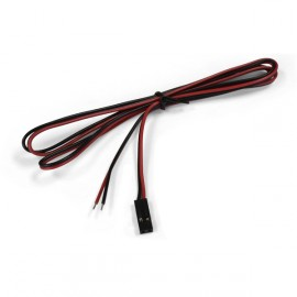 Wires for 3D Printer Red Black (1m)