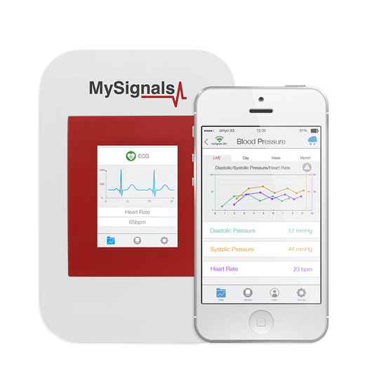 MySignals HW v2 - eHealth and Medical IoT Development