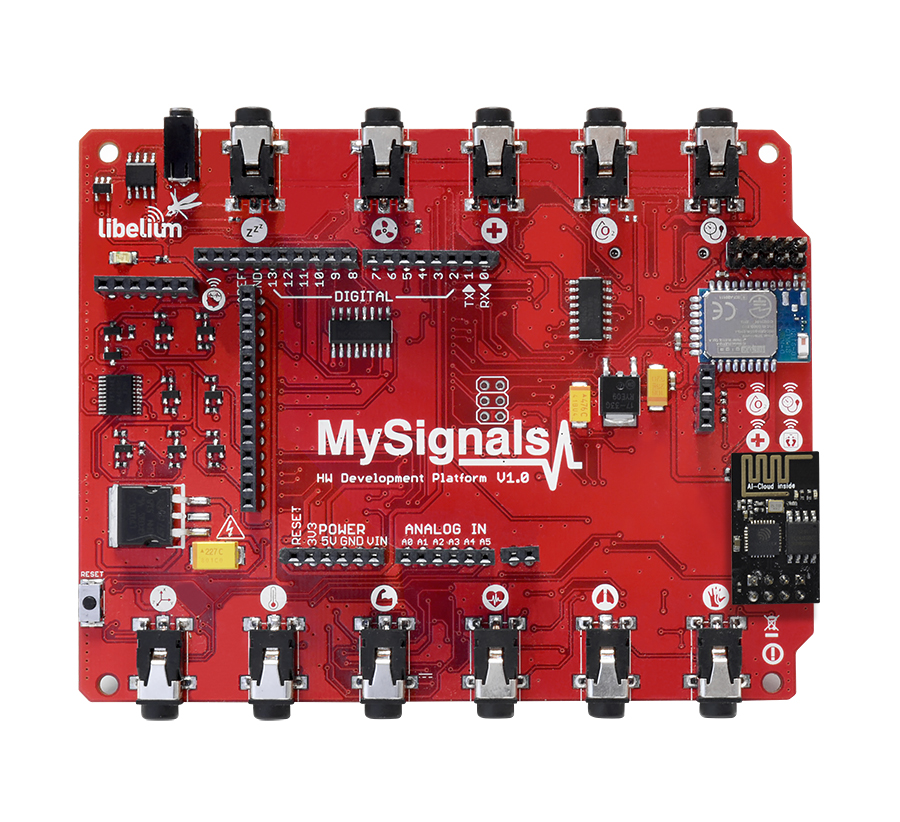 MySignals HW V2.0 - eHealth and Medical IoT Development Platform for Arduino