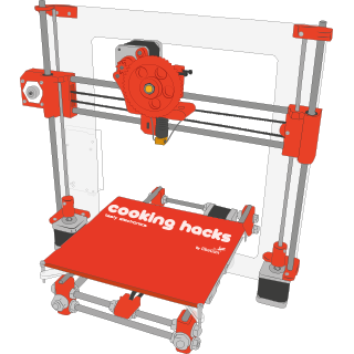 3D Printer by Cooking Hacks: How to Assemble Your Own 3D Printer