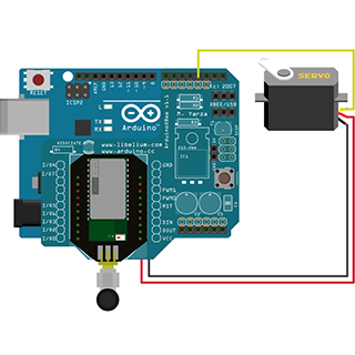 How to Control a Servo through the Serial Port Using Bluetooth Connectivity Kit
