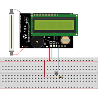 How to Turn On/Off the LED Bar of the Radiation Sensor Board Using Radiation Geiger Kit