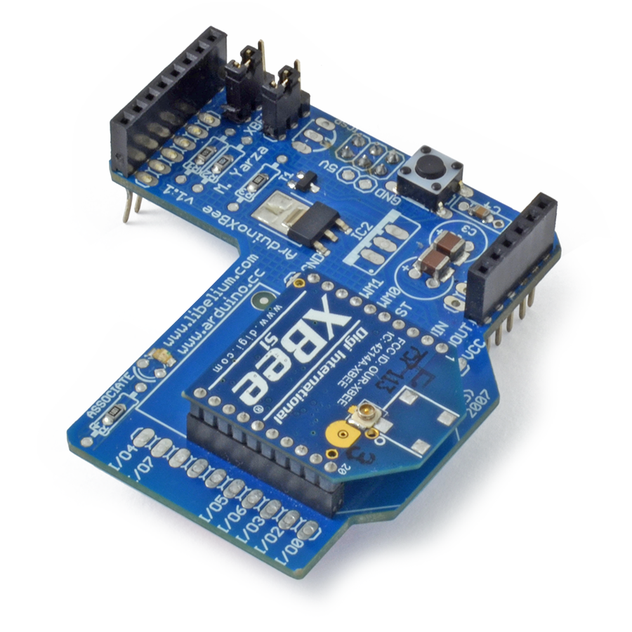 it was developed in collaboration with arduino  this documentation  describes the use of the shield with the xbee module