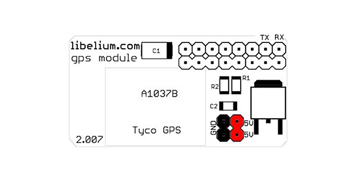 GPS Module for Arduino and Raspberry Pi