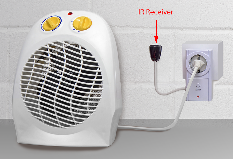 Control your HVAC Infrared Devices from the Internet with IR