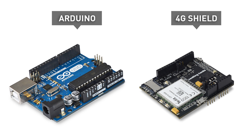 4G + GPS Shield for Arduino and Raspberry Pi Tutorial (LTE