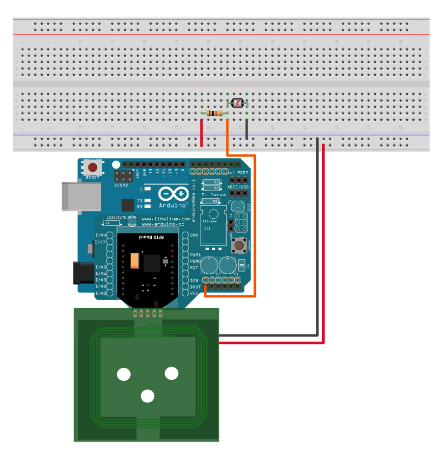 Ldr Sensor An Experiment With And Arduino Build Circuit How To Store Read Data On Rfid Tags Using Smart Cards Kit Nfc