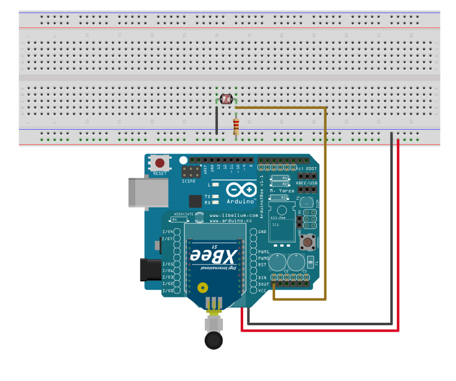 How to Send Sensor Data Using XBee Connectivity Kit