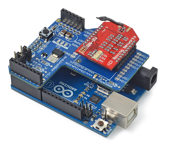 Wifi module for arduino and raspberry pi quot roving rn xvee