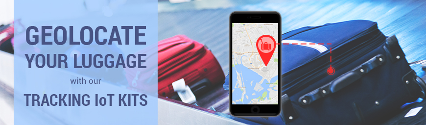 Geolocate your luggage during your holidays with Waspmote, Arduino and Raspberry Pi